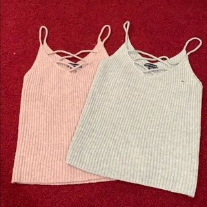 American eagle ribbed sweater camisole